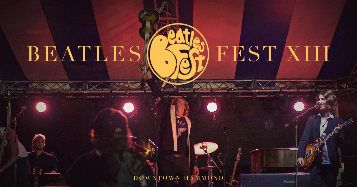 Beatles Fest – Sat, Aug 11, 2018 – Downtown Hammond, IN